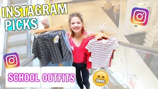 Instagram Followers Control My Back to School Outfit Shopping & Haul
