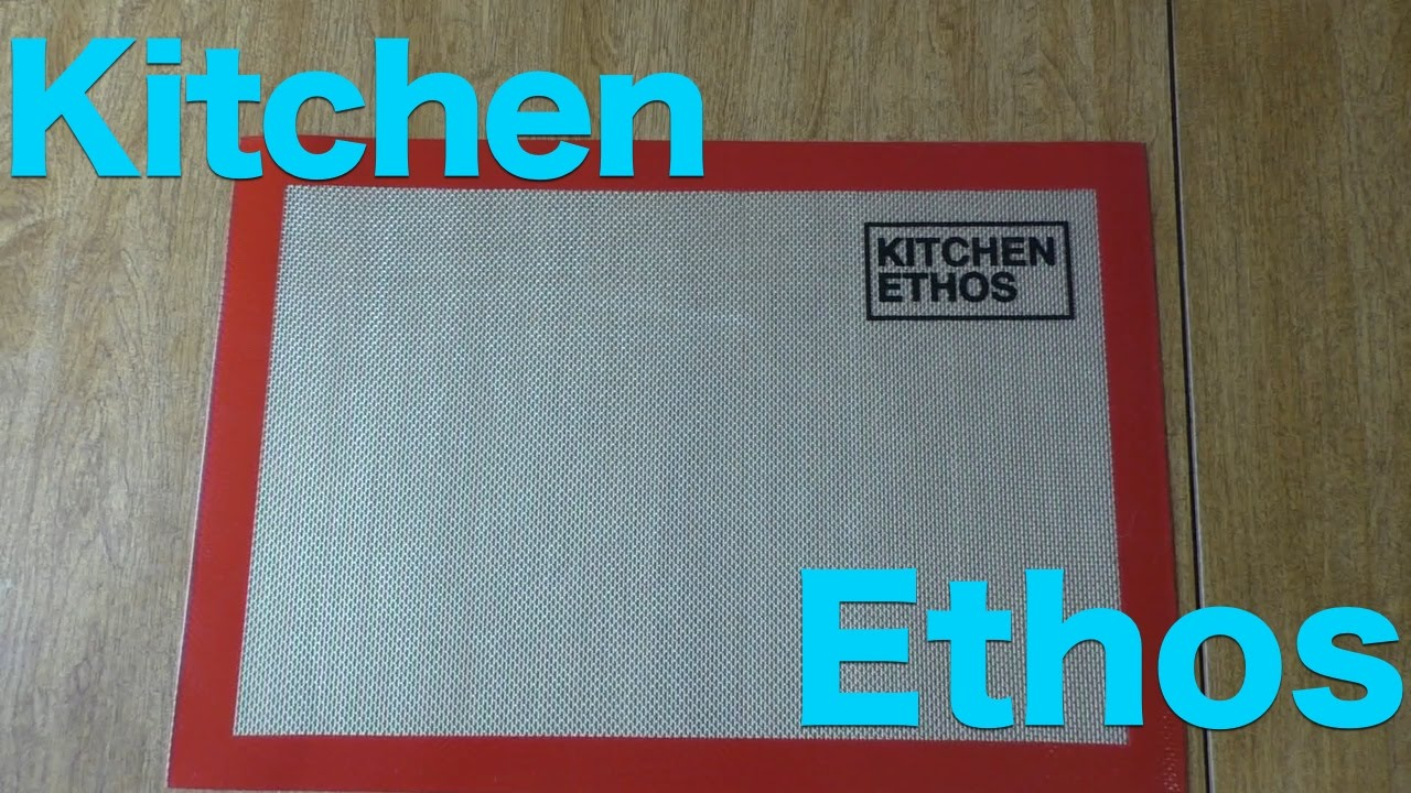 Review: Kitchen Ethos Non-Stick Silicone Baking Mats - YouTube