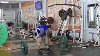 Маклаков Тимур, 13 лет, вк 46 Рывок 44 кг на 2 раза