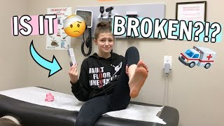 IS IT BROKEN?? 🚑 Gymnast Visits Doctor! | Bethany G