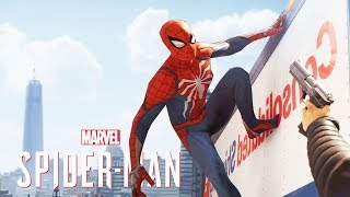 SPIDER-MAN PS4 - BE CAREFUL WHEN WEB SHOOTING?... (Spiderman PS4 Show)