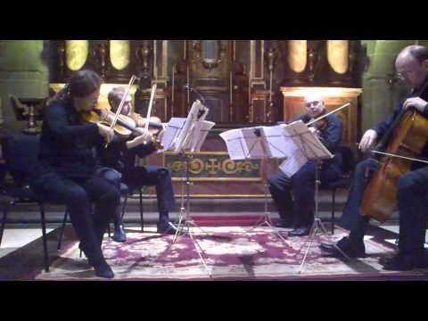 F. Schubert, La Muerte y La Doncella II mov.Cuarteto Atlantico