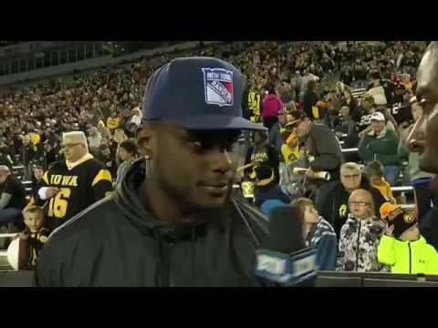 Jaleel Johnson Interview - Iowa Spring Football