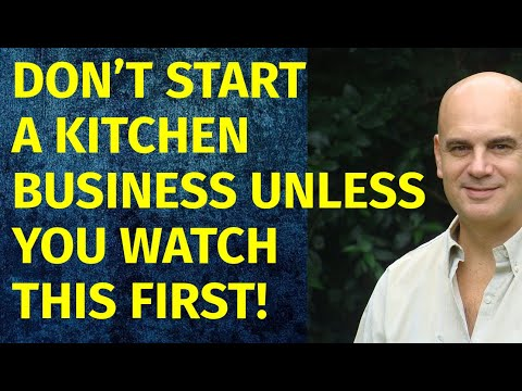 How to Start a Kitchen Business | Including Free Kitchen Business Plan Template