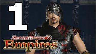Dynasty Warriors 7 Empires Walkthrough Part 1 - No Commentary Playthrough (PS3)
