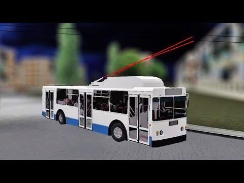 Видео Игра симулятор трамвая играть онлайн