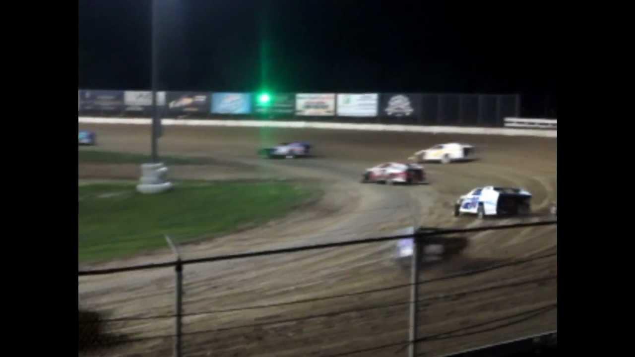 Bubba Raceway Park >> Racing - Open Wheel Modifieds (Feature Race) At Bubba Raceway Park 7-20-12 - YouTube