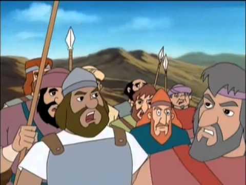 Grandes Héroes y Leyendas de la Biblia - David y Goliat - YouTube