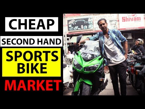 Cheap Second Hand SPORTS BIKES Market | Karol Bagh | Delhi | India
