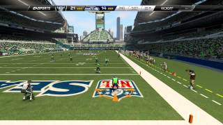 Madden 25::XBOX ONE Gameplay::Gift From Madden Gods-Raiders Vs. Seahawks-Online Gameplay XboxOne