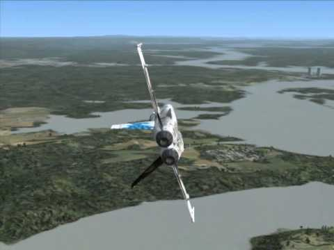 Flight Simulator X Downloadable Planes: The Boeing F/A-18
