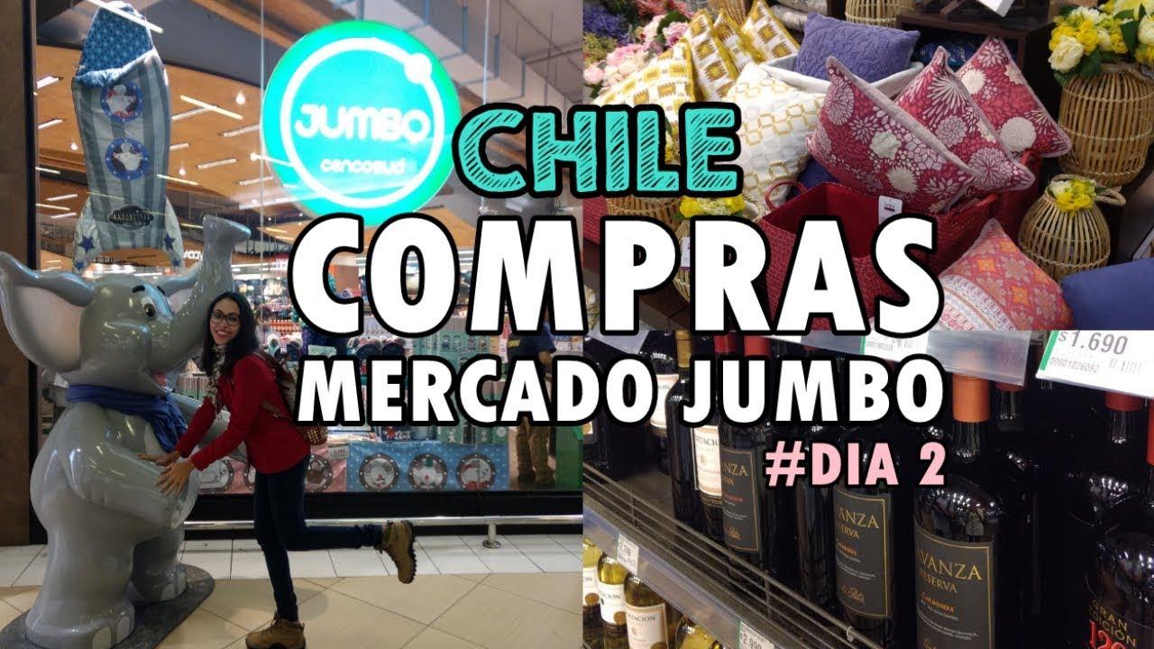 447f6deac29fb Compras no Supermercado Jumbo em Santiago - Chile