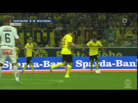 Borussia Dortmund Vs Wolfsberger AC 5 - 0, All Goals | Full Highlights 6/8/2015