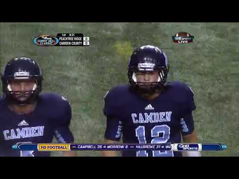 Peachtree Ridge vs Camden County (GPB HS Football) (Corky Kell) (09/25/12)