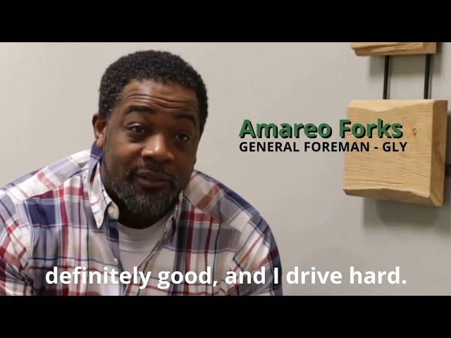 Amereo Forks - GLY - Foreman Basic Training Testimonial