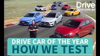 Drive Car of the Year How We Test | Drive.com.au