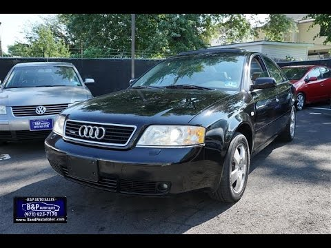 2001 Audi A6 2.7 T >> 2001 Audi A6 2 7t Quattro 6 Speed Sedan