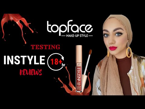 Testing / Reviews Of TOPFACE Instyle Extreme Matte Lip Paint 12hr