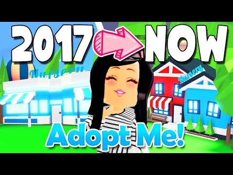 *2017 VS NOW* in ADOPT ME! 😲 Roblox L