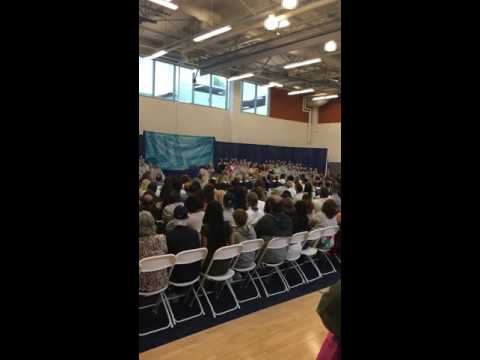 Connecticut River Academy Graduation 2016 Student Chorus