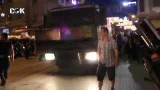 İstiklal Caddesinde Polis ALLAH ALLAH diye Saldırıyor !