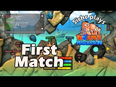 Sirhc plays Worms Revolution: First Match! |