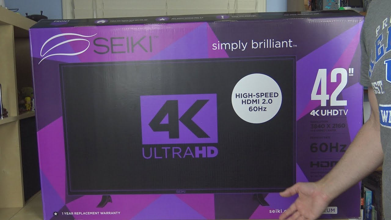 Seiki SE42UMT HDTV Drivers Download