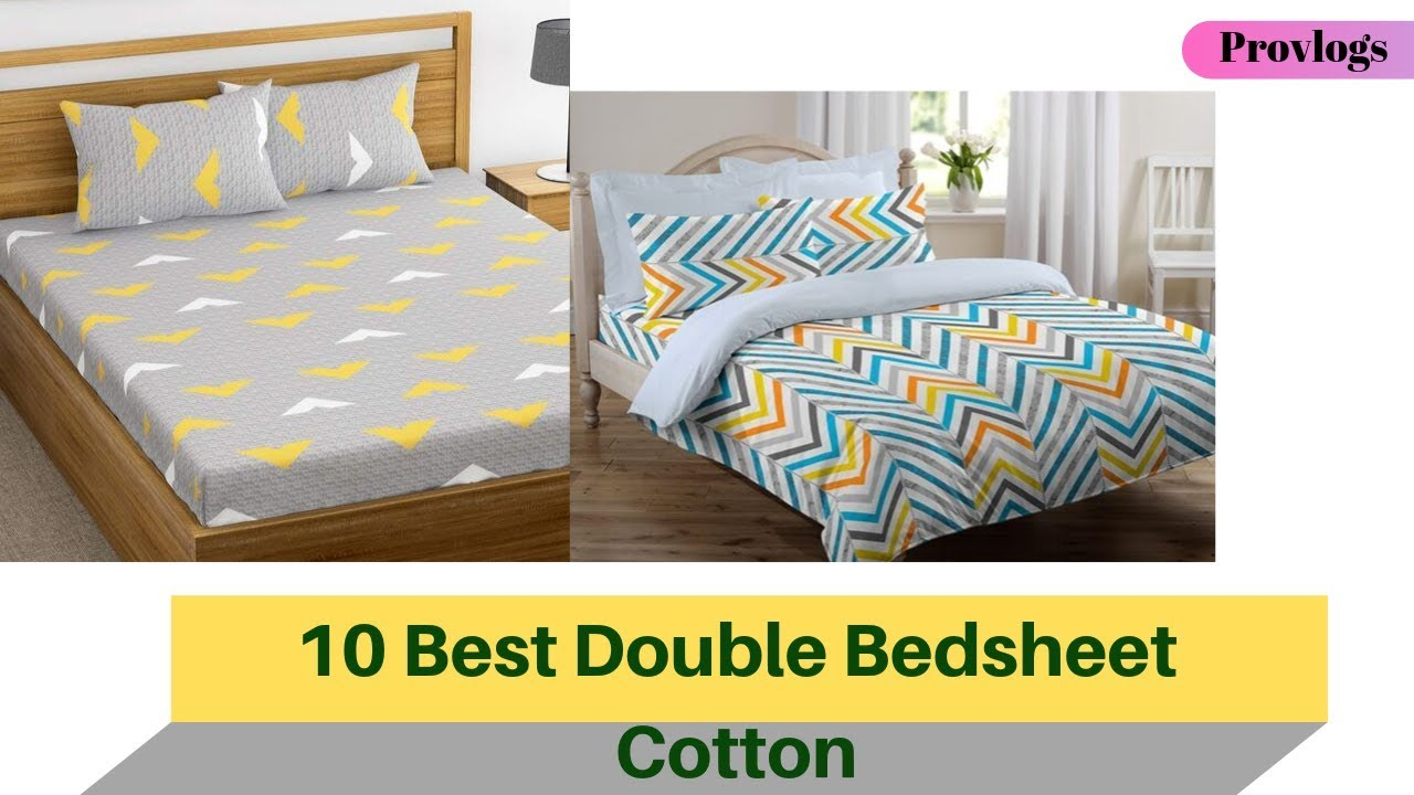 Best Bed Sheets 2020.10 Best Rated Cotton Bedsheets For Double Bed In India 2020