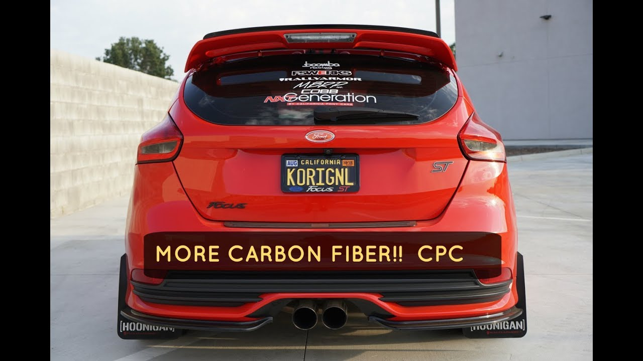 Cal Pony Cars Part 2 Focus St Carbon Fiber Battery Cover Install 2017