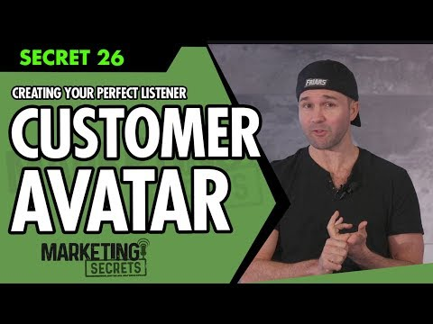 Secret #26: Creating Your Perfect Listener Or Customer Avatar