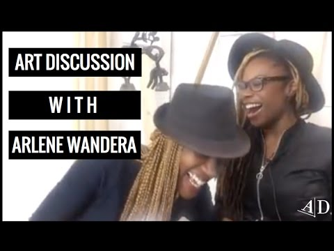Art Discussion: Adelaide Damoah in Conversation with Arlene Wandera