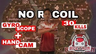 BTR ZUXXY PAKAI GYROSCOPE = NO RECOIL?! - PUBG MOBILE INDONESIA