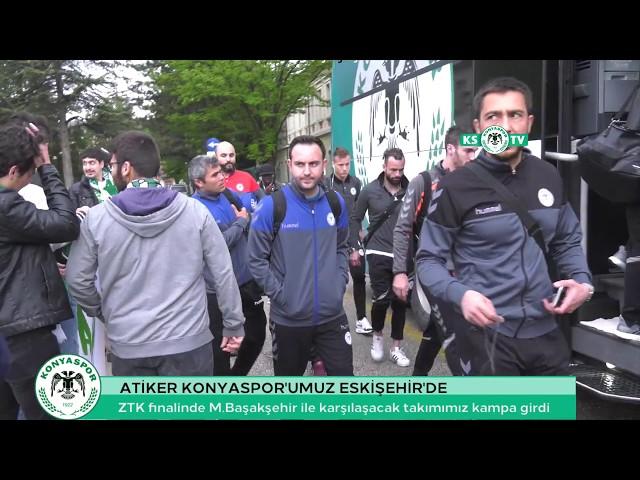 ZTK finali için Eskişehir'e gelen takımımız kampa girdi