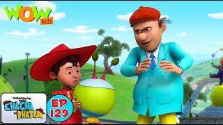 Alien Mera Dost  Chacha Bhatija  Kids Cartoon Show  Wow Kidz