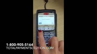 This video is about how to key in a credit card transaction on an ingenico ict220 for the processor of tms. if you are not with tms and would like ...
