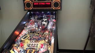 Kiss pinball machine pro model by Stern Pinball