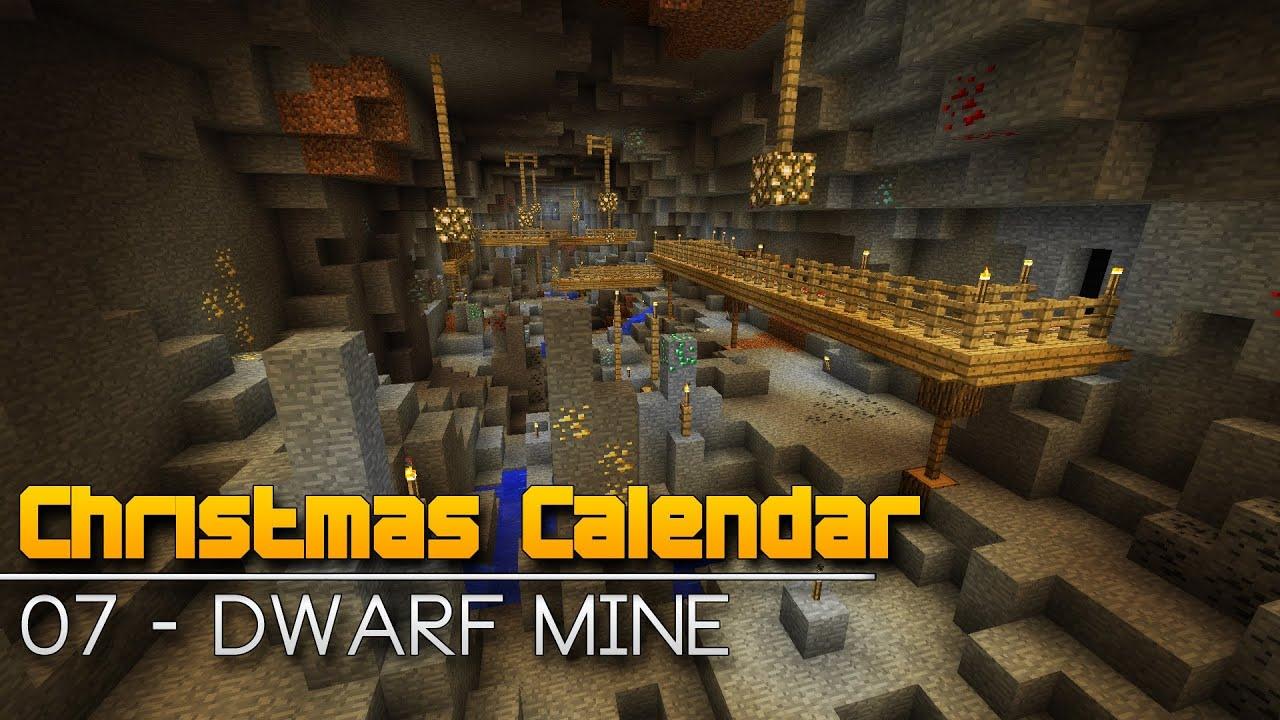Christmas Calendar Minecraft Download : Christmas calendar dwarf mine minecraft parkour map