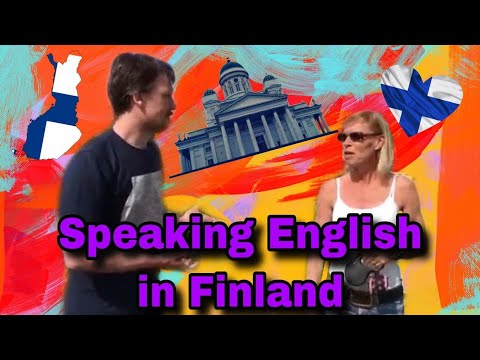 Speaking English In Finland (with Subtitles)