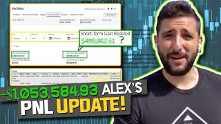 +$1,053,584.93 PnL Milestone Update | SAVA $100ATM Offering EXPLAINED | Alex Temiz Recap