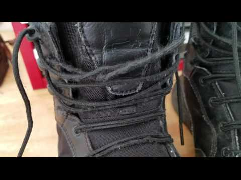 9f43b801a5 1 Year Review - Under Armour Men's Stellar Tactical Boots - YouTube