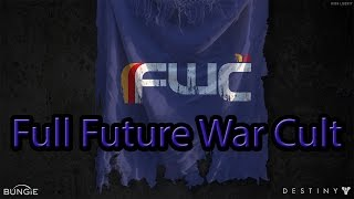 Destiny Full Future War Cult armory test Gear-Up Hunter Class | Ps4 HD