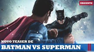TEASER FINAL DE BATMAN VS SUPERMAN! | Urgente #35