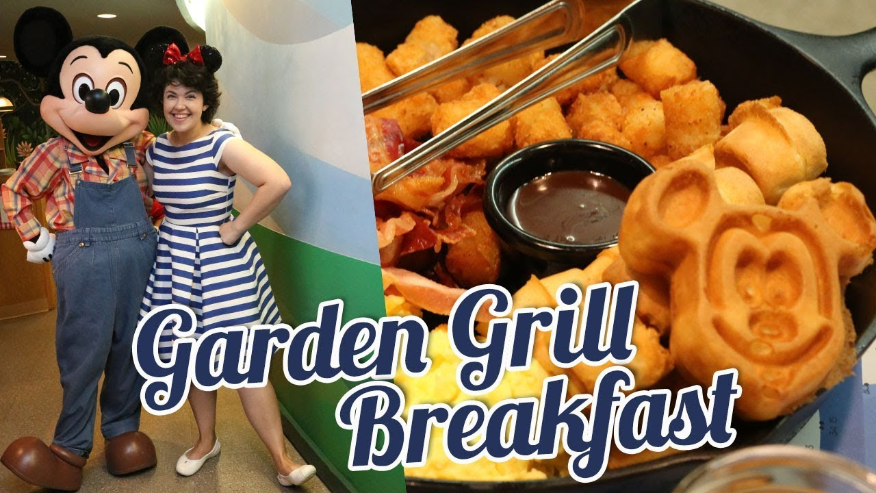 Breakfast at Epcot\u0027s GARDEN GRILL