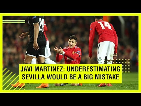 BAYERN'S JAVI MARTINEZ ON FACING SEVILLA IN THE UCL
