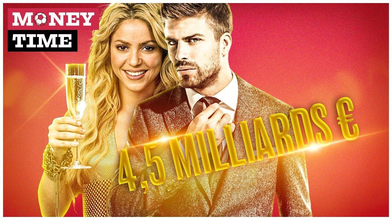 Piqué - Shakira, le couple de stars le plus riche du monde ? | Money Time