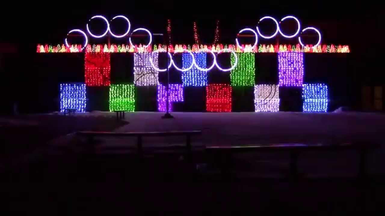 Frozen Let It Go Christmas Lights 2014 West Middle Remix Dubstep ...
