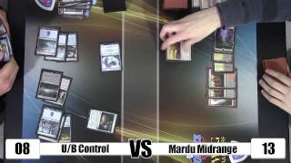 Mtg - Standard Gameplay: U/b Control Vs Mardu Midrange