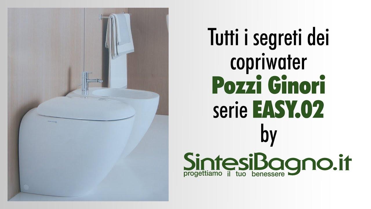 Sedile Pozzi Ginori Easy 02.Copriwater Pozzi Ginori Easy 02 Sedile Originale Vs Dedicato Youtube