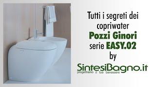 Copriwater Pozzi Ginori Easy 02 Sedile Originale Vs Dedicato Youtube