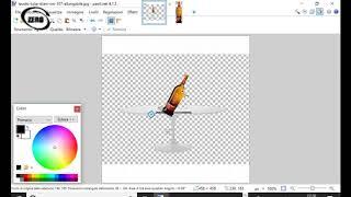 Come fare sfondo trasparente con paint